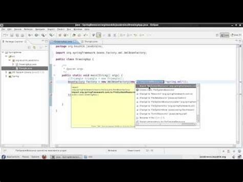 spring factory pattern xml exle spring beginners course studytonight
