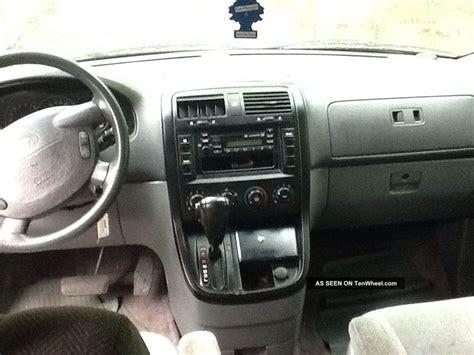 airbag deployment 2003 kia sedona parental controls 2003 kia sedona van with a bad motor transmission in good shape