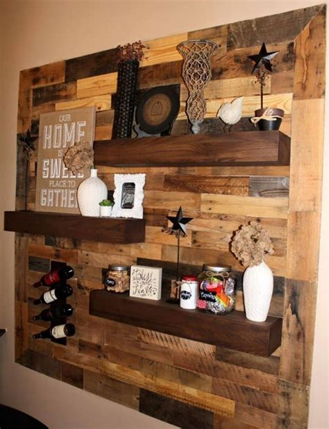 wood wall ideas the best diy wood pallet ideas kitchen with my 3 sons