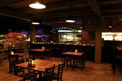 Grotto restaurant, wine cave, wine bar, wood fired grill