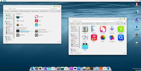 theme windows 10 ios ios8 skinpack for win 7 8 8 1