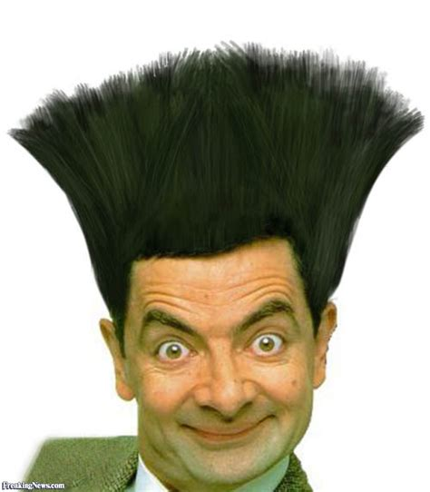 Mr Bean Cartoon Home Haircut   Haircuts Models Ideas