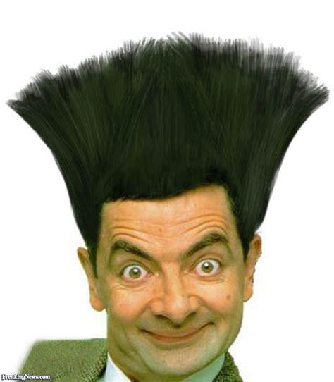 Mr Bean Cartoon Home Haircut   Haircuts Models Ideas