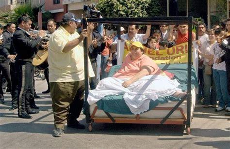 Manuel Meme Uribe - world s fattest wedding