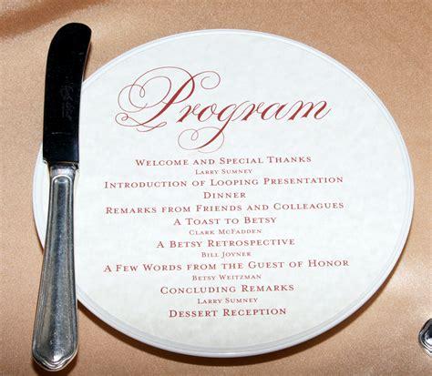 retirement program template retirement celebration program templates free