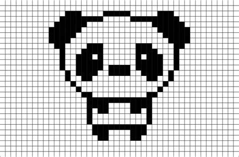 Panda Pixel Template brik pixel on quot now available new pixelart