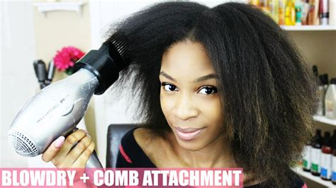 Hair Dryer Attachment For Straightening how to hair comb attachment