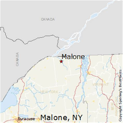 malone ny map best places to live in malone new york