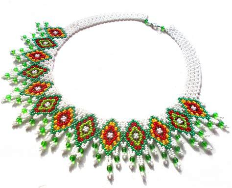 beaded bead free pattern for necklace irma magic bloglovin
