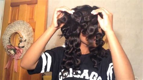 is remington wand curler good for african american hair spiral wand curls hair tutorial youtube