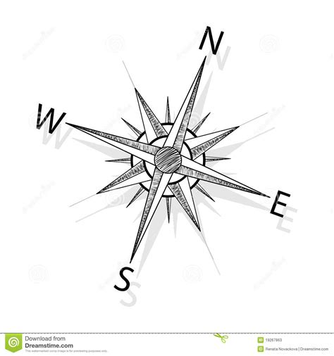 vector compass stock photos image 19267863