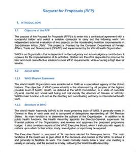 request for rfp template rfp template 7 documents in pdf word