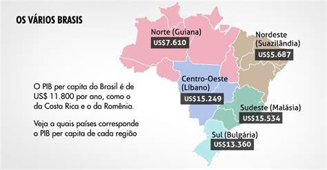 os 10 estados mais ricos do brasil 2015 youtube pib per capita do brasil por estado fotos uol economia