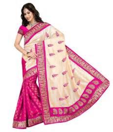 fashion sarees fashion designer sarees pink chanderi saree buy fashion