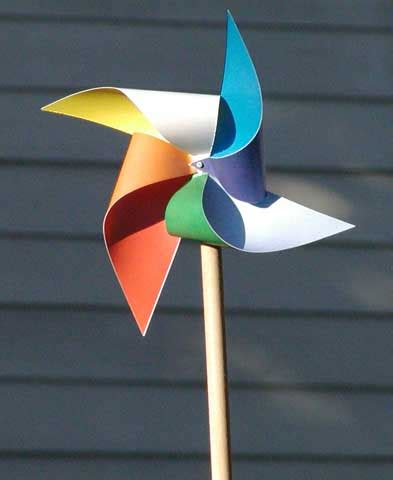 A Paper Windmill - merry go more paper works paper city