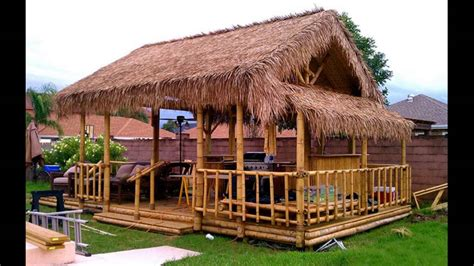 Bamboo House Idea Simple Bamboo House Design !   YouTube
