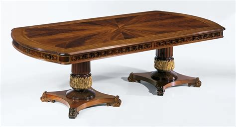 Vogue Dining Table Regency Style High End Dining Table