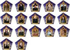 Chocolate Frog Trading Card Template by Chocolate Frog Packets Harry Potter Creativemakes Wikia
