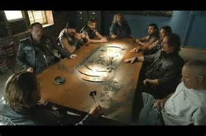 Sons Of Anarchy Meeting Table Betham Author A Guide To Some Mc Terms You Might Find Useful Before Reading