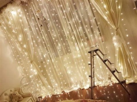 curtain fairy light backdrop xm  wedding event