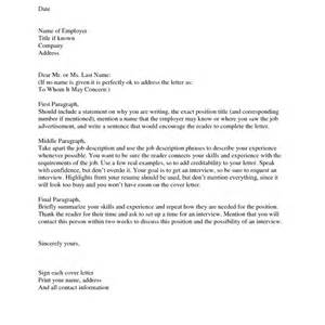How To Start A Cover Letter With A Name by How To Start A Cover Letter With A Name