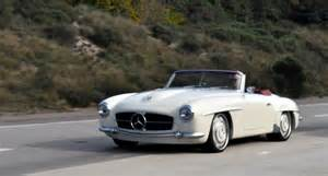 Mercedes 190sl Just A Car I Spotted The 1961 Mercedes 190sl The