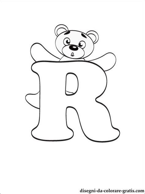lettere dell alfabeto da stare e colorare lettera r disegni da colorare disegni da colorare gratis