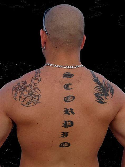 scorpio zodiac tattoo photos of scorpio tattoos