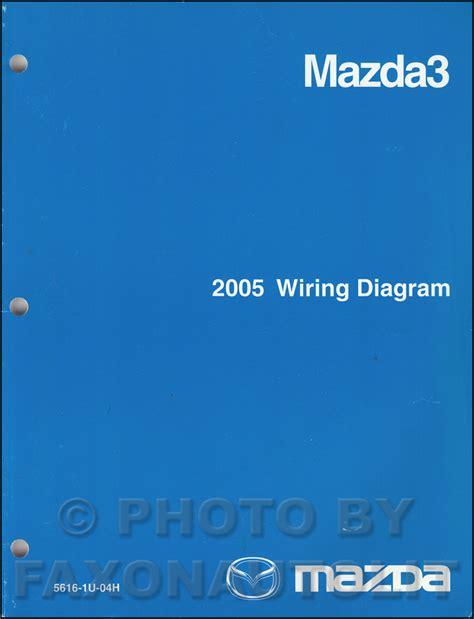 2005 mazda3 repair shop manual original