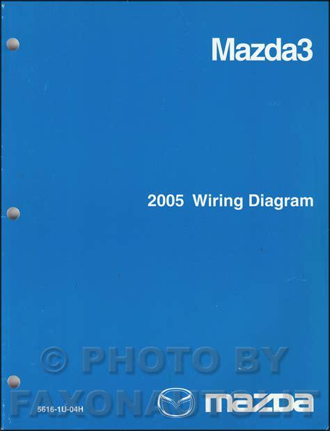 wiring diagram for 2005 mazda 3