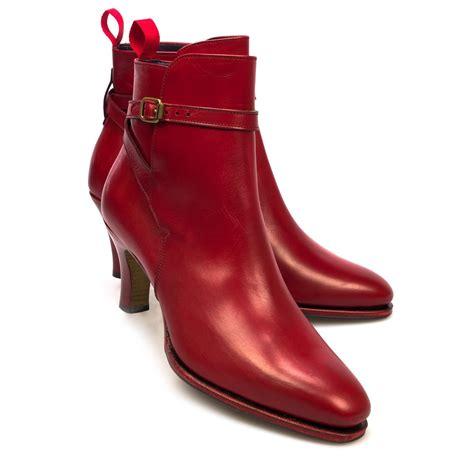 boots with high heel high heel jodphur boots in