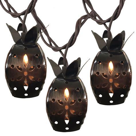 Metal Pineapple Tropical String Light Set Tropical String Lights