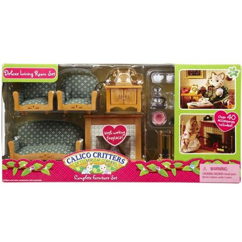 Calico Critters Deluxe Living Room Set | calico critters deluxe living room set educational toys