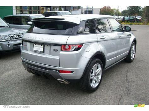 2012 Indus Silver Metallic Land Rover Range Rover Evoque