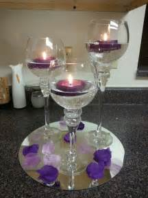 purple table centerpieces the world s catalog of ideas