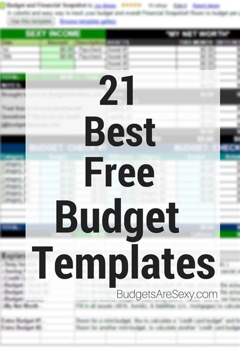 household budget excel spreadsheet templates