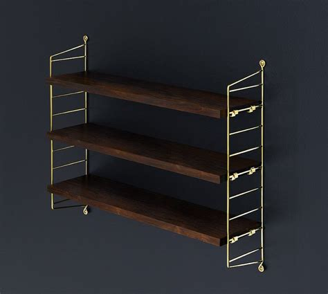 string shelving string pocket limited edition for our 60 year anniversary palisander and gold string