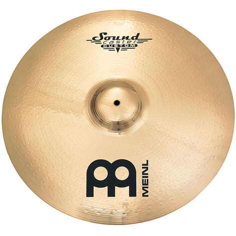 Meinl Cymbal Soundcaster Custom Powerful Crash 21 meinl soundcaster custom sc21pr b 171 ride becken