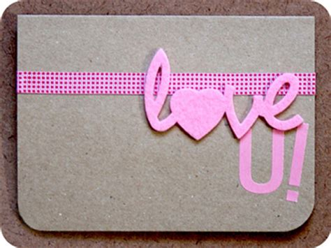 Pink Handmade Cards - pink and skin color handmade anniversary cards for