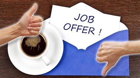 it selecting the best job offer