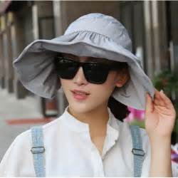 Topi Pantai Wanita topi pantai wanita anti uv black jakartanotebook