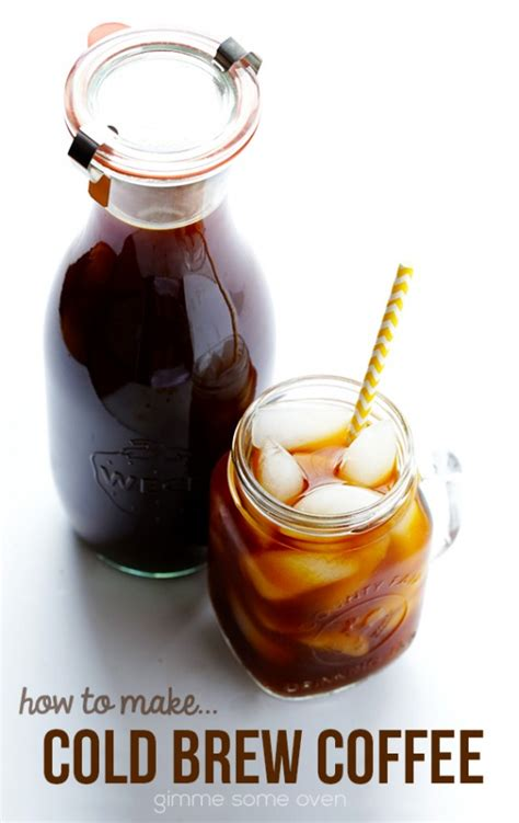 cold brewed coffee recipe cold brewed iced coffee recipe dishmaps
