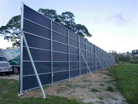 sound blocking fence material noise at pilgrim s corporation aibonito distribution
