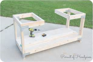 Portable Table Saw Bench Diy Mobile Miter Saw Stand Giveaway