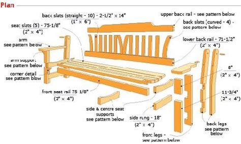 woodwork plans garden bench  diy plans