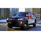 2016 Ford Police Interceptor Utility  Front HD
