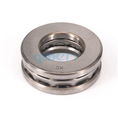Thrust Bearing 51412 Nis 51412 60x130x51mm axial thrust bearing set 2 steel races 1 cage abec 1 ebay