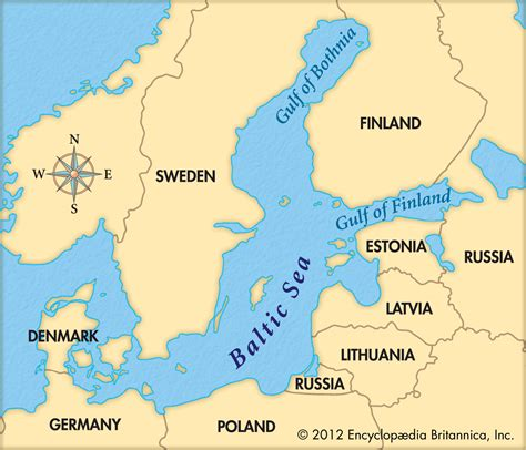 map of baltic sea baltic sea map russia www pixshark images