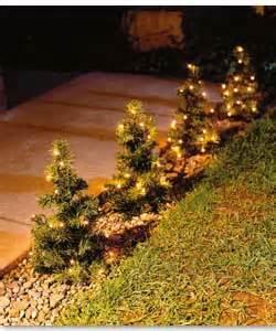 6 mini pre lit multi function pathway trees christmas tree