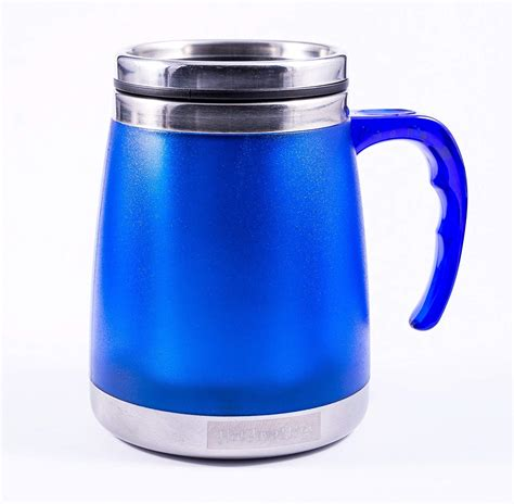 desk mug with lid insulated coffee mugs with lids an awesome idea for